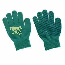 Harry Hall Girl's Glow in the Dark Gloves Warm Winter Gloves *NEW* RRP £4.49