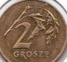 Poland 2 Two Groszy Polish Coins Polanski