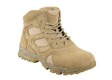 """Desert Tan Military Forced Entry Deployment Combat Tactical 6"""" Boots Rothco 5368"""