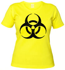 BIOHAZARD VINTAGE SYMBOL GIRLIE SHIRT - Big Contamination Bang Hardcore Theory