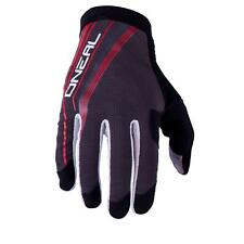 ONeal AMX GM 15 Handschuhe Rot Grau MX DH FR MTB Glove Moto Cross Mountain Bike