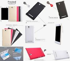 NILLKIN Super Frosted Shield Hard Shell Back Case Cover For Sony Xperia C3 S55T