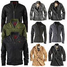 SURPLUS Raw Vintage funzione Militare Outdoor Giacca/GIACCA TRENCH UOMO / Donna