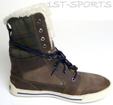 TIMBERLAND BOOTS, PANNAWAY EK ROLL TOP BROWN BOYS BOOTS, SHOES, 1494R UK 5 to 6
