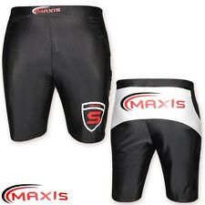 MAXIS Mens Boxing UFC Cage Fight Shorts MMA Compression Gym Training Boxer S M L