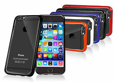 COVER POSTERIORE IN GEL PARAURTI TRASPARENTE PER iPHONE 6 4.7""
