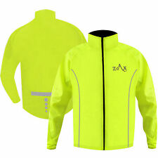 Cycling Rain Jakcet HI VIZ Cycle Coat Bicycle Waterproof Jacket BOYS / YOUTH