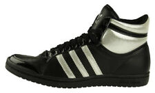 ADIDAS ORIGINALS TOP TEN HI SLEEK WOMENS TRAINERS, SHOES BLACK UK 3.5 to 8.5