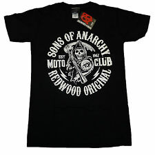 Sons of Anarchy Redwood Original Moto Club Offizielles T - Shirt