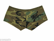 SHORTS WOMEN'S SEXY WOODLAND CAMO BOOTY CAMP UNDERSHORTS ONLY ROTHCO 3476