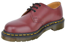 Dr. Martens 1461 59 Cherry Red Smooth 3-Eye Glattleder Schuhe Rockabilly 1008560