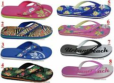 Ladies Osprey Urban Beach Flip Flops Footwear Sandals Summer Holiday Size 3-8