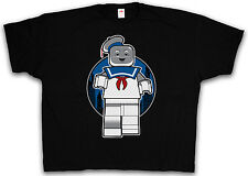 4XL & 5XL MARSHMALLOW MAN T-SHIRT - Lego Real Ghostbusters T-Shirt XXXXL XXXXXL