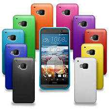 10 PACK SILICONE GEL CASE SKIN COVER FOR HTC ONE M9 BLACK PURPLE RED BLUE PINK