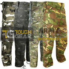 Camo Combat Cargo Work Trousers Mens Military Army Pants Airsoft Special Ops MTP