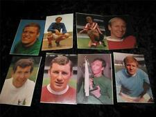 VINTAGE FOOTBALL COLLECTOR CARDS Great Stars of Football WIZARD Comic 1970