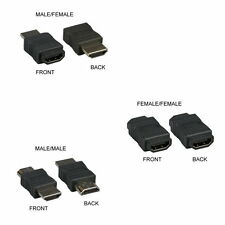 HDMI Male Female MM MF FF Adapter Coupler Extender Gender Changer Connector HDTV