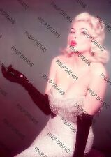 Vintage A4 Photo Poster Wall Art Print of Jayne Mansfield Movie Pin-up