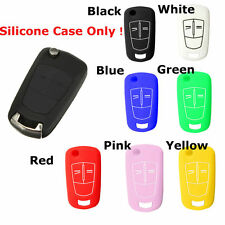 2/3 Button Silicone Remote Key Cover Case Fob For VAUXHALL OPEL CORSA ASTRA ZAFI