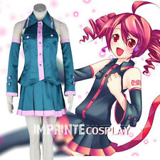 Vocaloid Kasane Teto Cosplay Costume Full Set FREE P&P