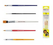 Snazaroo Face Painting BRUSHES/SPONGES(Brush/Large/Thin/Flat)(Party/Fancy Dress)
