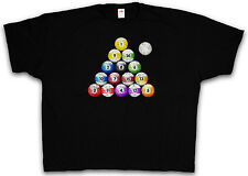 XXXXL VINTAGE POOL BILLARD T-SHIRT - Snooker Player Sports Shirt 4XL 5XL XXXXXL