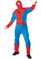 NEW Official Marvel Spiderman - Muscle Chest Mens Fancy Dress Costume