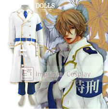 DOLLS Naked Ape Tokkei 3 Brigade White Uniform Cosplay Costume FREE P&P