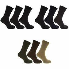 Redtag Mens Plain Thermal Winter Warm Socks (1.20 Tog) (Pack Of 3)