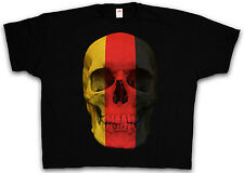 4XL & 5XL GERMAN SKULL FLAG T-SHIRT - BRD Germany Deutschland Shirt XXXXL XXXXXL