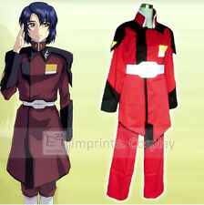 Mobile Suit Gundam SEED ZAFT Red Uniform Cosplay Costume Full Set FREE P&P