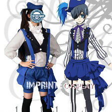 Black Butler Ciel Phantomhive Dress Cosplay Costume Full Set FREE P&P