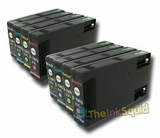 8 x Epson T78 XXL (T7891-4 XXL) Non-oem Ink Cartridges for Workforce Pro
