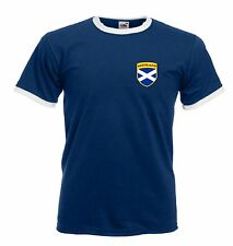 Camiseta escudo futbol rugby escoces - Todas las tallas disponibles