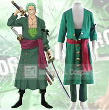 One Piece New World Roronoa Zoro Cosplay Costume FREE P&P