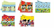 DISNEY Mickey Mouse Designs - PLASTIC TABLECOVER (Tableware/Party/Kids/Birthday)