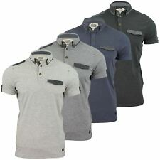 Hommes Polo T-Shirt par Smith Jones 'Dewsbury' Manche Courte
