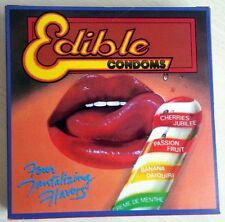 EDIBLE UNDERWEAR CONDOMS LICKITY DICKS PASTIES TATTOOS
