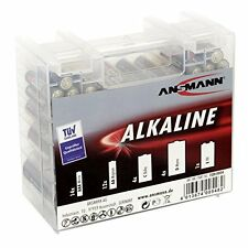 "ANSMANN Alkaline ""RED"" Batterie Box, 35er Box 4013674037216"