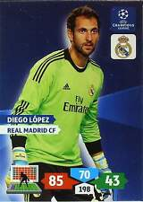 PANINI CHAMPIONS LEAGUE 2013-2014 - REAL MADRID - BASE CARDS zum wählen