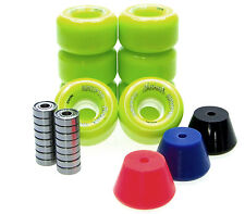 Pattini Rotoli / Stopper / ABEC Cuscinetti Set Disco Monopattino PANAME VERDE