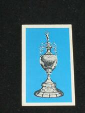 """DAILY MIRROR """"MIRRORCARD"""" Bobby Moore Gallery of Soccer Sides 1971/72 Cups & Int"""