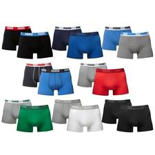 Puma 6er Pack Boxer Short Boxershort S-XL red / blue NEU