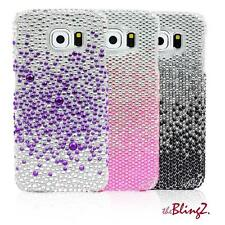 Strass Diamant Bling Bling Handy Case Cover Hülle Etui für Samsung Galaxy S6