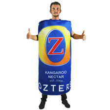 BEER CAN NOVELTY FANCY DRESS COSTUME OZTERS AUSTRALIAN BIG BEER STAG OUTFIT