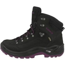 LOWA RENEGADE GTX MID WOMEN GORE-TEX OUTDOOR HIKING SCHUHE SCHWARZ 320945-9957