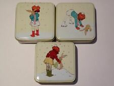 Belle & Boo - Square Trinket/Treat Tin - 3 Christmas Designs To Choose From