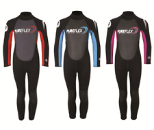 Two Bare Feet PUREFLEX NERO Kids Full Length Wetsuit Childrens Suit New Design