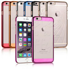 CHROME ULTRA THIN HARD BACK CLEAR CLIP COVER CASE FOR APPLE iPHONE 6s / iPHONE 6