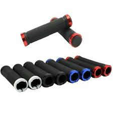 Double Lock On Locking Handle Bar Grips BMX MTB Mountain Bike Cycle Bicycle Grip